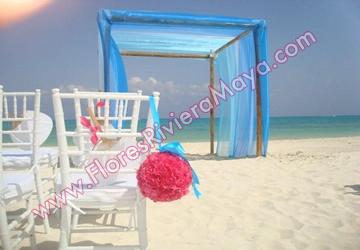 Decoracion bodas de playa florista de bodas cancun for Decoracion en cancun